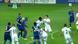 Merkelig midtstopperkombinasjon i Leicester-seier