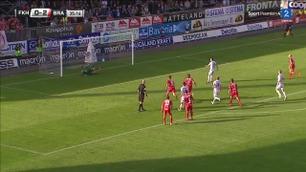 Straffemål: Hajradinovic 1-2 (36)