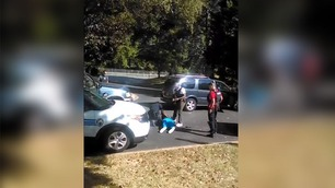 Kona filmet da Keith ble skutt av politiet