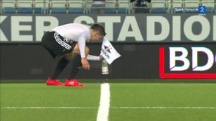 Helland plantet RBK-flagget på Aker Stadion: – Hegemoniet er tilbake