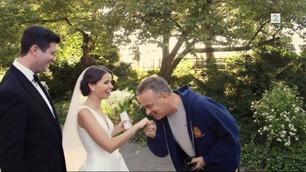 Sjekk hvem som kysser bruden i Central Park