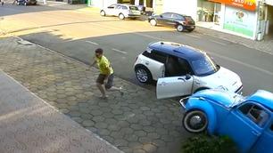 Guttens raske reaksjon kan ha reddet livet hans