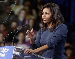 Michelle Obama hudfletter Donald Trumps overgreps-kommentarer