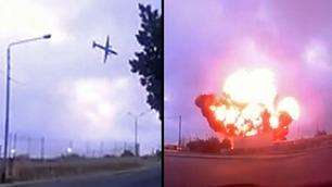 Ble skrekkslagent vitne til flystyrt på Malta