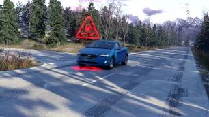 Nytt sikkerhetssystem: Volvoen advarer om glatte veier