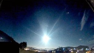 Meteor eksploderte over Bergen
