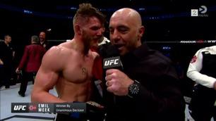 Emil Meek vant i UFC-debuten