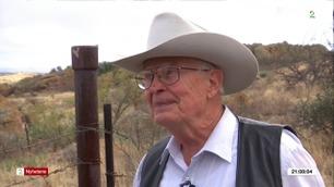 Jim (77) håper Trumps mur vil stoppe narkosmuglerne fra å krysse eiendommen hans