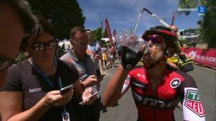 Porte rykket fra og overtok ledelsen i Tour Down Under