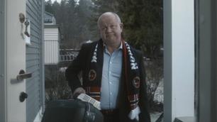 Høgmo hylles for selvironisk reklameparodi