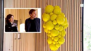 Slik reagerte huseierne på den nye stua og Tid for hjems gule kunstverk