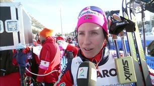 Bjørgen til TV 2 etter gullet: – Jeg deler denne medaljen med Therese