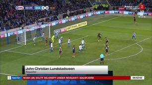 Sportsnyhetene: Newcastle-spillerens utrolige scoring