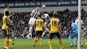 Dødballmareritt for Arsenal da Dawson scoret to (!)
