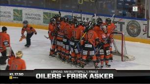 Sammendrag: Frisk Asker - Lillehammer 5-1