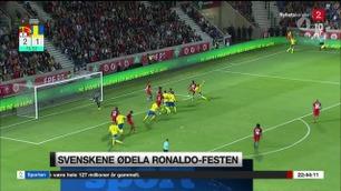 Sportsnyhetene: Fantastisk snuoperasjon av Sverige og Bonucci-scoring for Italia