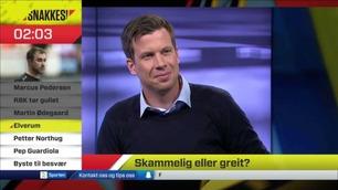 Snakkes!: – Nå er du på et ubrøytet sidespor, Petter!