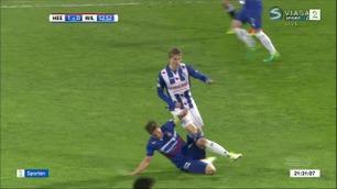Sportsnyhetene: Ødegaard taklet av banen