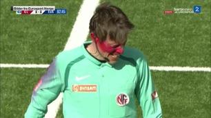 Sportsnyhetene: Linjemann angrepet med pepperspray i Obos-ligakamp