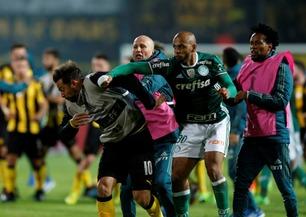 Voldsomt masseslagsmål etter Copa Libertadores-kamp