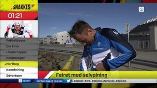 Snakkes! - Jeg blir litt usikker på OL-formen til Northug når han står på Island og snakker med penisen sin