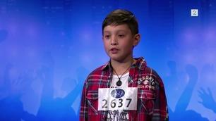 Husker du dette? Sangtalentet Kyle (8) sjarmerte på Idol Jr.-audition