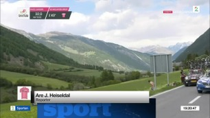 Sportsnyhetene: Giro-lederen tapte tid etter bedriten krise