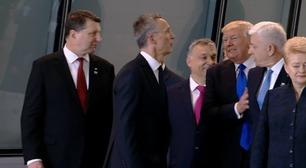 Her dytter Trump Montenegros statsminister