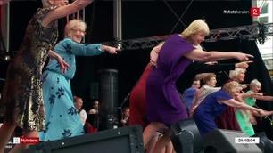 Dette er Festspill-dansernes beste tips for å aldes med glans