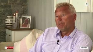 Mortens kone ble drept i skolegården i Kristiansand