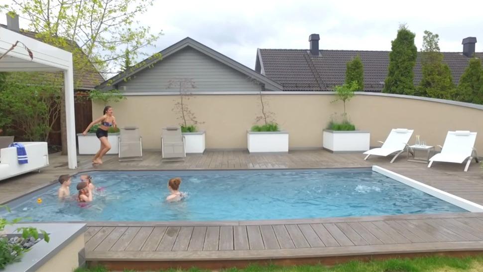 bygg din egen pool