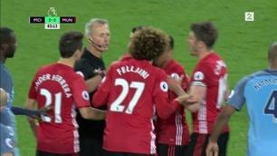 Sammendrag: Manchester City - Manchester United 0-0