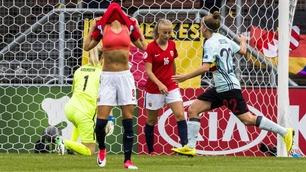 Sammendrag: Norge - Belgia 0-2