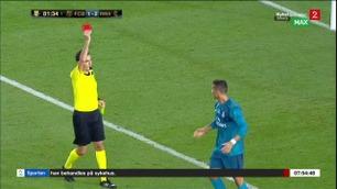 Sportsnyhetene: Ronaldo utvist Real Madrid slo Barcelona