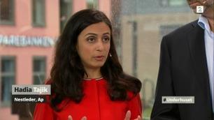 Barket sammen i TV-debatt: – Ikke engang lokale Frp-ere er blitt overbevist av Sandberg og Listhaug