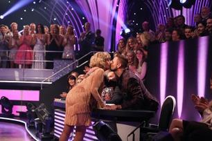 Trude kysset dommerne etter dansen