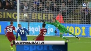 Sportsnyhetene: Liverpool sendt på hodet ut av Ligacupen