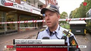 Politiet om gullsmedran: – Den ansatte ble påsatt håndjern