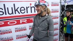 Her avbryter Johaug intervjuet etter doping-spørsmål