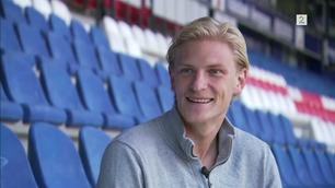 – Du må lære meg å score mål, Morten