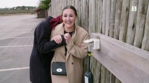 Anna Rasmussen (21) holdt overraskelsen skjult for Jan i månedsvis