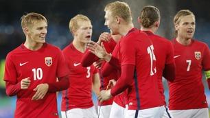 Sprudlende Ødegaard med praktscoring og utsøkt assist mot Tyskland