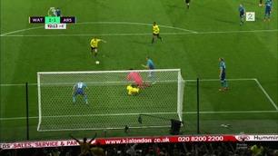 Sammendrag: Watford - Arsenal 2-1