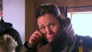 Tårene triller når hun får se hva Tid for hjem har gjort med familiehytta