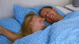 Jakten-paret tok med TV-kameraene inn på soverommet