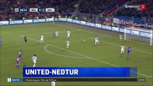 Sportsnyhetene: Sjokktap for United