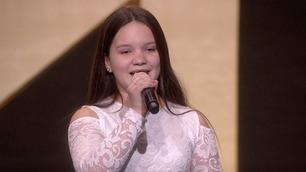 Ikke vist på TV: Alicia Løken (12) synger på Norske talenter