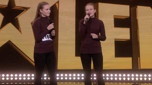Ikke vist på TV: Zandra & Karita synger i Norske talenter