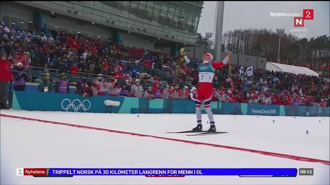 Norsk trippel i slalom