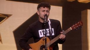 Ikke vist på TV: Ahmed Sadiq spiller på audition